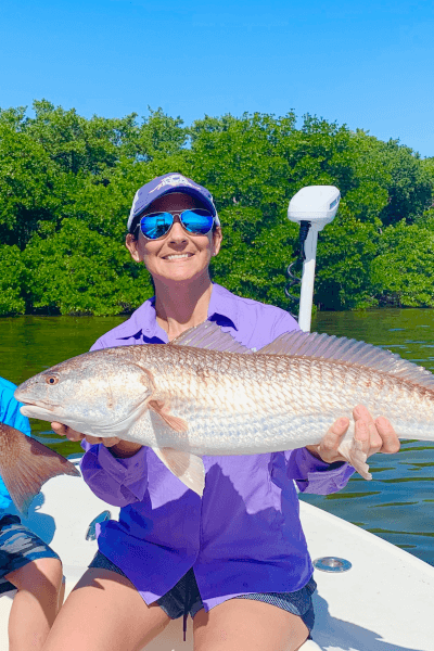 Catching Redfish in Miami, Florida